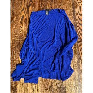 Forever 21 🔹 open shoulder blue top